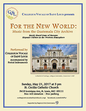 May 21, 2017 -- For the New World:Music form the Guatemala City Archive